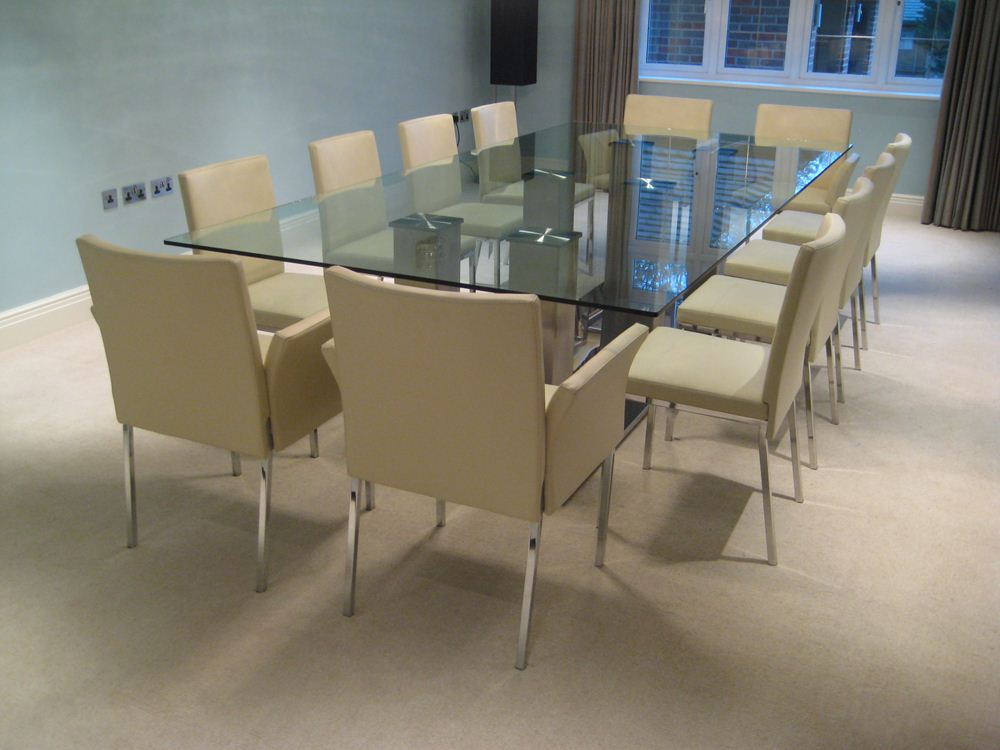 12 seater glass dining table futureglass blog for 12 seater dining table designs